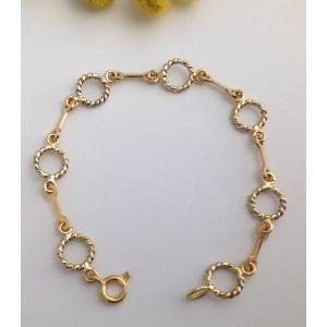 18kt Solid Baby-Girl Bracelet - gr. 4.60