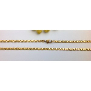 18kt Solid Yellow Gold Unisex Chain - gr. 16.97