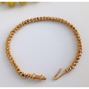 18kt Yellow Gold Men's Bracelet - gr. 16,68