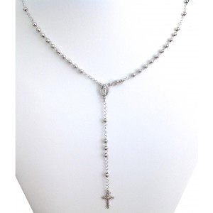 "925 Sterling Silver "" Rosary Chain "" of the Miraculous Medal"