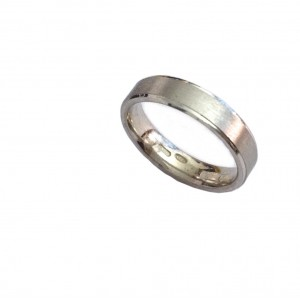 925 Sterling Silver Unisex Band Ring