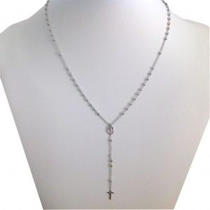Rosario della Medaglia Miracolosa In Argento 925