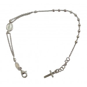 925 Sterling Silver Bracelet of the Miraculous Medal