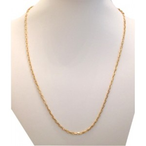 18KT Solid Yellow Gold Mens Chain - gr. 15.34