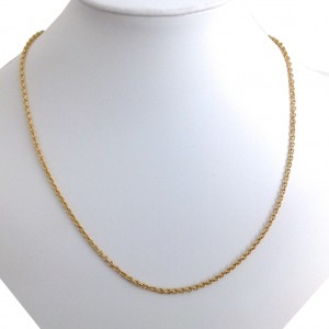 18k Solid Yellow Gold Unisex Links Chain- gr. 12.81