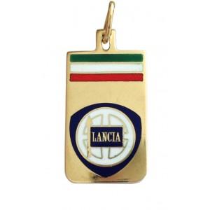 """Ciondolo """"Lancia"""" In Oro Giallo 18k - gr. 2.61"""