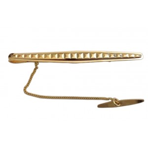 18kt Solid Yellow Gold Tie Bar - gr 4.03