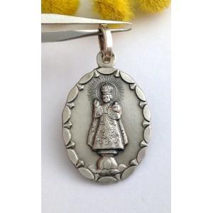 Медаль - Пражский Младенец Иисус - из серебра 925