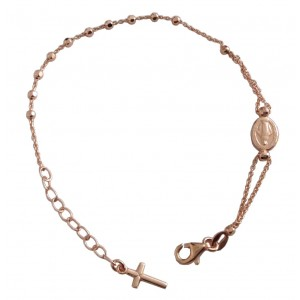 925 Sterling Silver Rosary Bracele of the MIracolous Medal