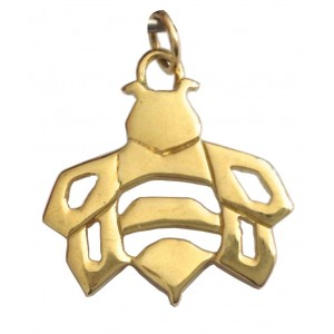 18kt Solid Yellow Gold Bee Pendant - gr. 2.66