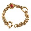 Bracciale In Oro 18kt con Perla e Corallo - gr. 30.33