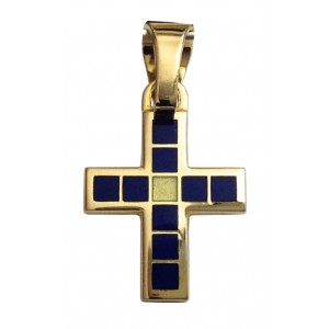 18kt Solid Yellow Gold Cross- gr. 3.38