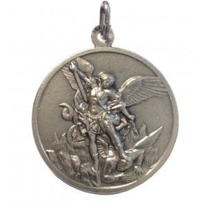 Saint Michael The Archangel Medal - High Relief