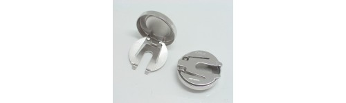 Silver Buttoncovers