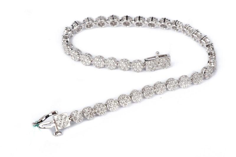 bracciale di diamanti tennis prezzo
