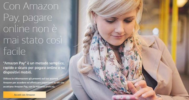 Amazon Pay: acquista in sicurezza con il tuo account Amazon